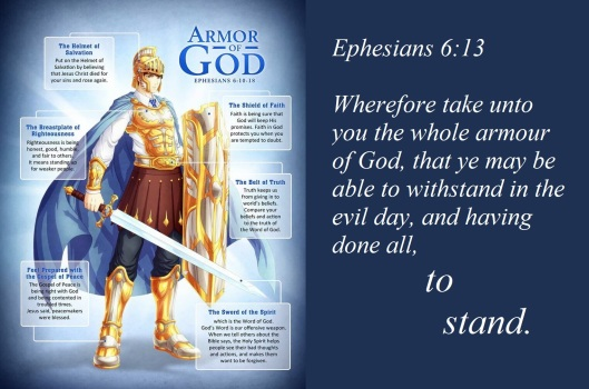Full Armor of God w Eph 6-13
